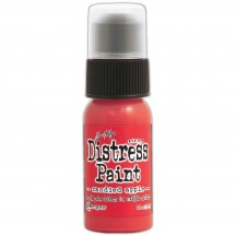 Ranger Tim Holtz Candied Apple Distress Paint TDD43645 red