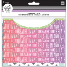 Me & My Big Ideas The Happy Planner Adhesive Pocket Healthy Hero PAP-04