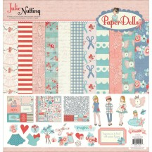 """Photoplay Julie Nutting Paper Dolls 12""""x12"""" Collection Pack PD2199"""