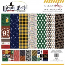 "Photoplay Wizard World Colorplay 12""x12"" Variety Paper Pack"