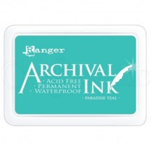 Ranger Archival Dye Ink Pad - Paradise Teal