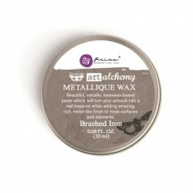 Prima Finnabair Art Alchemy Brushed Iron Metallique Wax 964009