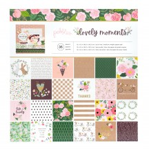 "Pebbles Lovely Moments 12""x12"" Paper Pad 736897"