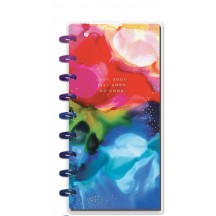 Me & My Big Ideas Ink Splash Skinny CLASSIC Happy Planner Dated July 2020 - July 2021 PCSD12-014