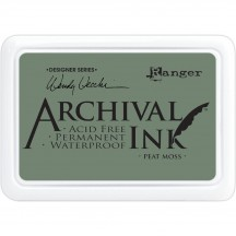 Ranger Peat Moss Archival Dye Ink Pad - Wendy Vecchi