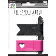 Me & My Big Ideas Create 365 The Happy Planner Pink & Black Pen Holder PH-01
