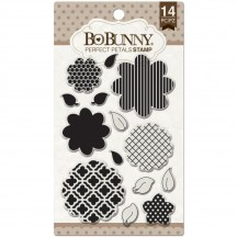 Bo Bunny Perfect Petals Clear Stamp Set 12105769