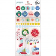 Pinkfresh Studio Home for the Holidays Christmas Mixed Embellishments 600619