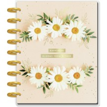 Me & My Big Ideas Happy Planner Pressed Florals Inspiration CLASSIC Guided Journal PGJC-024