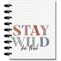 Me & My Big Ideas CLASSIC Happy Planner Notes Guided Journal - Colorful Leopard PGJR-029