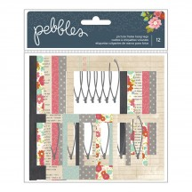 Pebbles Front Porch Picture Frame Hang Tags 732331