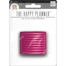 Me & My Big Ideas Create 365 The Happy Planner Pink Expander Rings RING-03