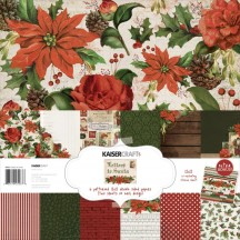 "Kaisercraft Letters to Santa 12""x12"" Paper Pack PK567"