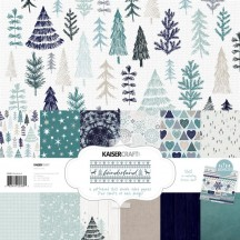 "Kaisercraft Wonderland 12""x12"" Christmas Paper Pack PK589"