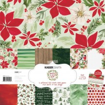 "Kaisercraft Peace & Joy 12""x12"" Christmas Paper Pack PK590"