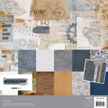 "Kaisercraft Workshop 12""x12"" Paper Pack PK609"
