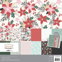 "Kaisercraft Peppermint Kisses Christmas 12""x12"" Paper Pack PK610"