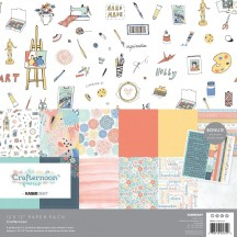 "Kaisercraft Crafternoon 12""x12"" Paper Pack PK612"