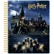 Paper House Harry Potter Hogwarts At Night Undated Spiral Planner PL2004