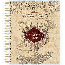 Paper House Harry Potter Marauder's Map Undated Spiral Planner PL2005