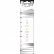 Me & My Big Ideas Create 365 CLASSIC Happy Planner Bookmarks Go For It PLBM-07