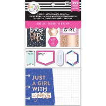 Me & My Big Ideas CLASSIC Happy Planner Multi Accessory Pack Boss Babe PLMP-04