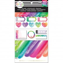 Me & My Big Ideas CLASSIC Happy Planner Multi Accessory Pack Watercolor Brights PLMP-06