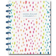 Me & My Big Ideas CLASSIC Happy Planner Notes Notebook - Splash of Color PLNO-22