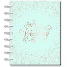 Me & My Big Ideas CLASSIC Happy Planner Undated Wedding Plans PLNY-204