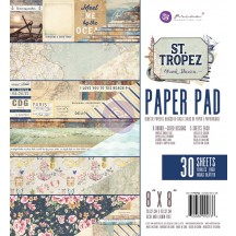 "Prima Marketing Frank Garcia St Tropez 8""x8"" Paper Pad 992736"