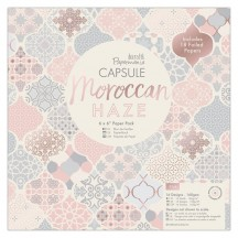 """doCrafts Papermania Capsule Moroccan Haze 6""""x6"""" Paper Pack 160266"""