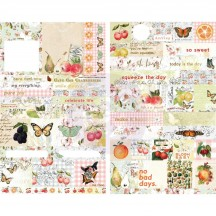 Prima Fruit Paradise Word & Quote Stickers 638436