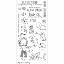 My Favorite Things Polynesian Paradise Clear Stamps BB-22