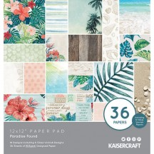 "Kaisercraft Paradise Found 12""x12"" Paper Pad - 36 sheets PP259"
