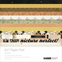 "Kaisercraft Take Note 6.5""x6.5"" Specialty Paper Pad PP911 40 Sheets"