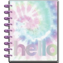 Me & My Big Ideas Pastel Tie-Dye CLASSIC Happy Planner Dated Aug 2021 - July 2022 PPCD12-155