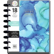 Me & My Big Ideas Kaleidoscope CLASSIC Happy Planner Dated July 2021 - Dec 2022 PPCD18-022