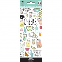 Me & My Big Ideas The Happy Planner Drinks Value Pack Stickers PPSM-11