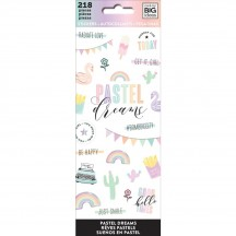 Me & My Big Ideas The Happy Planner Pastel Dreams Value Pack Stickers PPSM-22