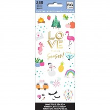 Me & My Big Ideas The Happy Planner Love This Season Value Pack Stickers PPSM-23