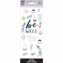 Me & My Big Ideas The Happy Planner Be Well Value Pack Stickers PPSM-25