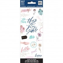 Me & My Big Ideas The Happy Planner Year to Shine Value Pack Stickers PPSM-26
