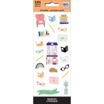 Me & My Big Ideas The Happy Planner Bookish Petite Sticker Sheets PPSM-29