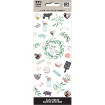 Me & My Big Ideas The Happy Planner Farmhouse Petite Sticker Sheets PPSM-30