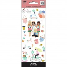 Me & My Big Ideas The Happy Planner Squad Petite Sticker Sheets PPSM-31