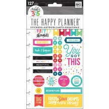 Me & My Big Ideas Create 365 The Happy Planner Happy Brights Stickers PPSP-100
