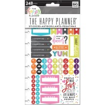 Me & My Big Ideas Create 365 The Happy Planner What's For Dinner Stickers PPSP-108