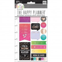 Me & My Big Ideas Create 365 The Happy Planner Mom Boss Stickers PPSP-110