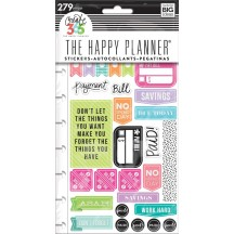 Me & My Big Ideas Create 365 The Happy Planner Get Paid Stickers PPSP-84