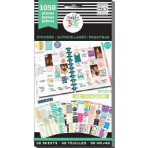 Me & My Big Ideas Create 365 The Happy Planner Color-Coordinated Value Pack Stickers PPSV-03
